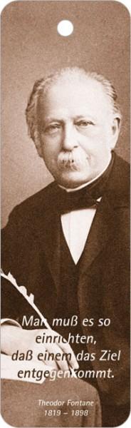 Lesezeichen Theodor Fontane