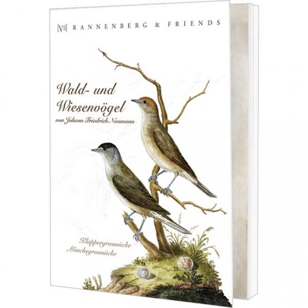Postkartenbuch 'Wald- und Wiesenvögel'