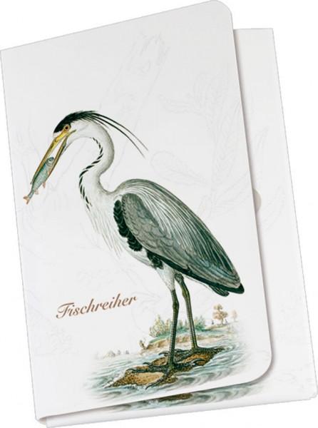 Taschennotizblöckchen 'Fischreiher'