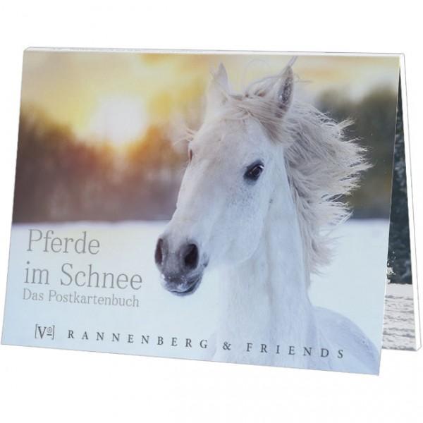 """Postkartenbuch """"Pferde im Schnee"""""""