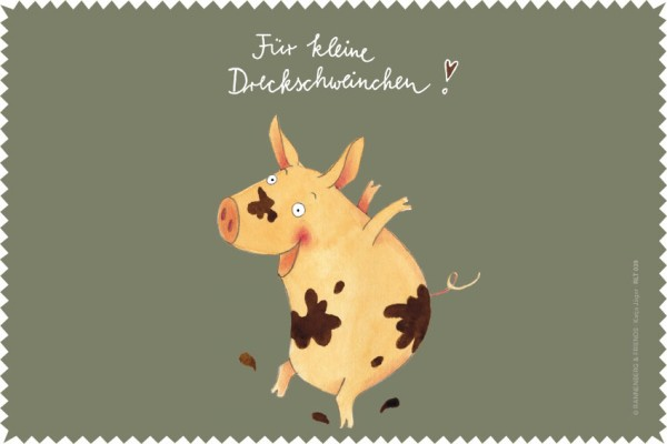 """Laptoptuch """"Dreckschweinchen"""""""