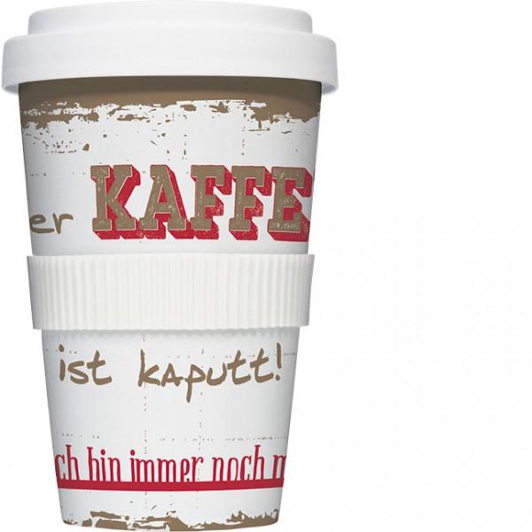 Coffee to go 'Kaffee ist kaputt'