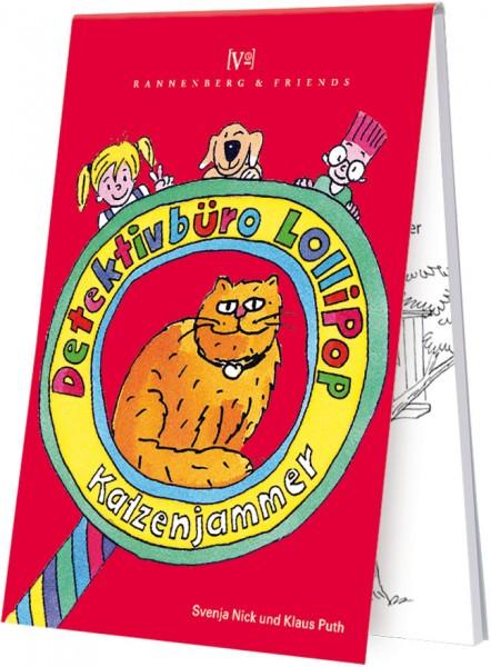 Spieleblöckchen 'Kinderkrimi Katzenjammer'