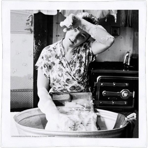Spültuch 'Waschfrau'