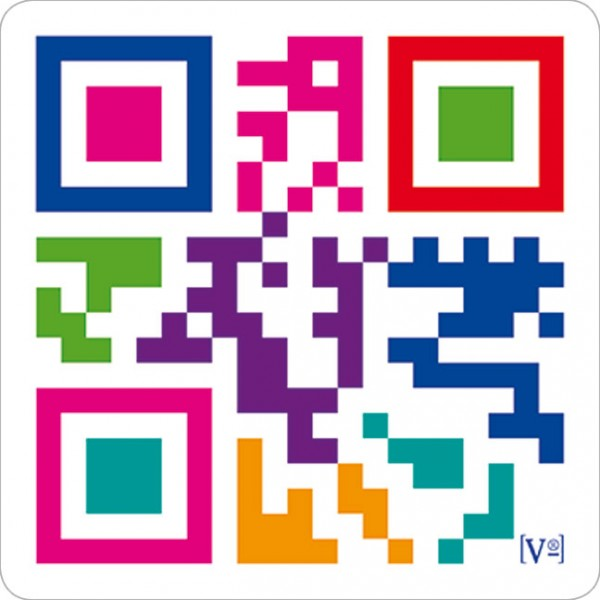 Handy-Putzis 3x3 'QR-Code 'Ruf mich an''