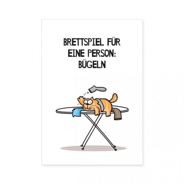 "Postkarten Large ""Catzz - Brettspiel"""