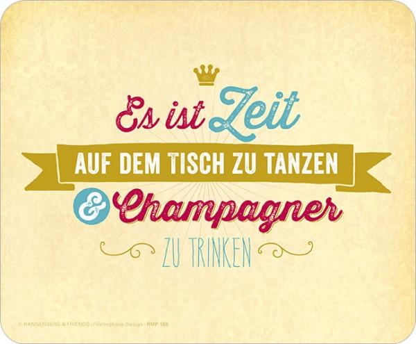 Maus-Pad 'Champagner'
