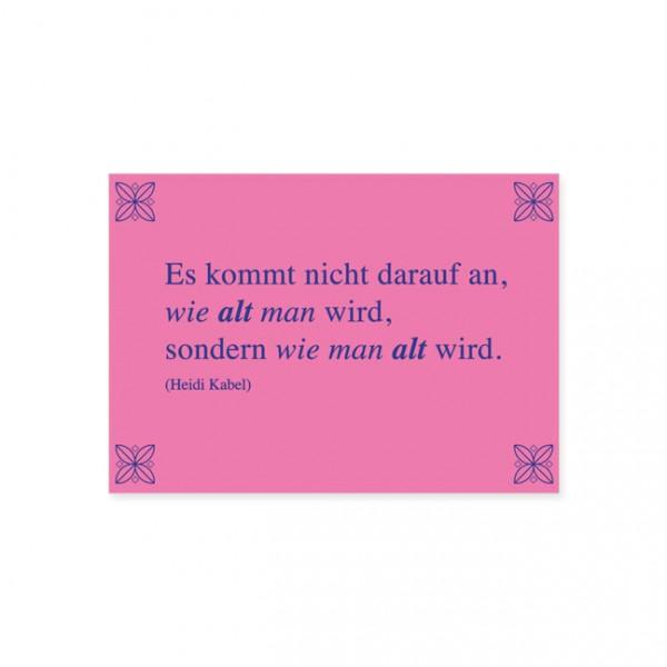 """Postkarte """"Heidi Kabel"""""""