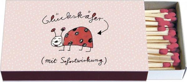 Zündholz-Schachteln 'Glückskäfer'
