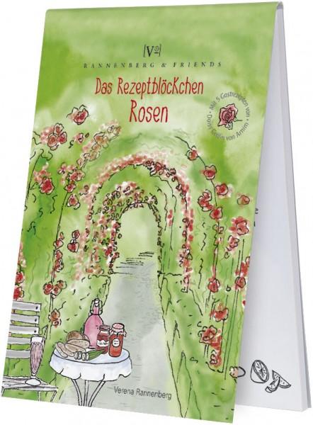 """Spieleblöckchen """"Das Rezeptblöckchen Rose"""""""