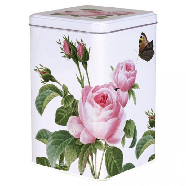Blechdose 'Rosa centifolia' von Pierre Joseph Redouté