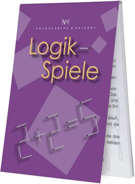 """Spieleblöckchen """"Logik-Spiele"""""""