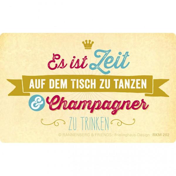 "Magnete ""Champagner"""