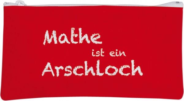 Etuitasche 'Mathe ist ein Arschloch'