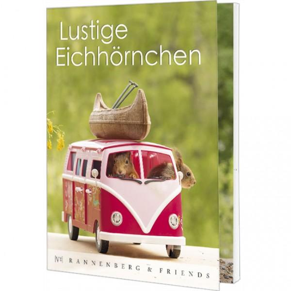 """Postkartenbuch """"Lustige Eichhörnchen """""""