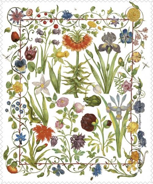 Brillenputztuch 'Gartenblumen'