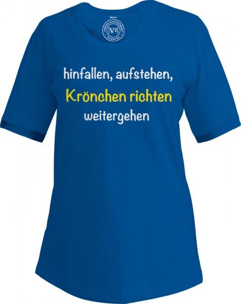 """T-Shirt """"Krönchen richten"""""""