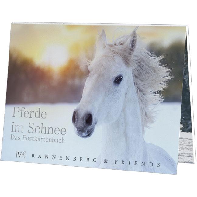postkartenbuch pferde im schnee rannenberg friends. Black Bedroom Furniture Sets. Home Design Ideas