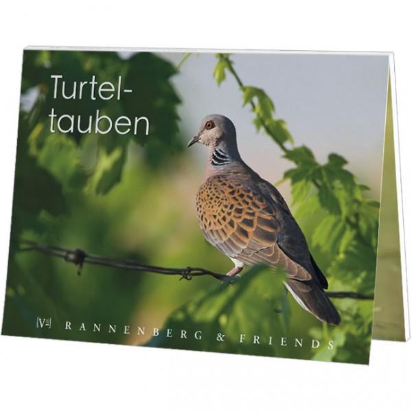 """Postkartenbuch """" Turteltauben """""""