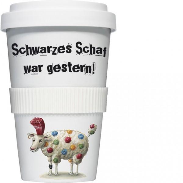 Coffee to go Becher 'Schwarzes Schaf'