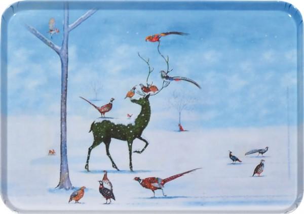 """Tablett small """"Winter Wunderland"""""""