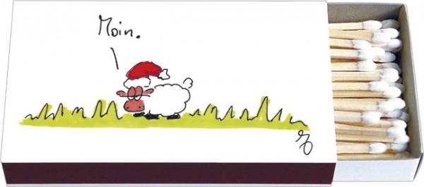 Zündholzschachteln Weihnachten 'Moin Weihnachten'