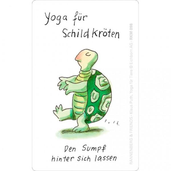 Magnete 'Yoga für Schildkröten'