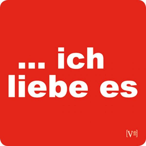 Handy-Putzis 'Ich liebe es'