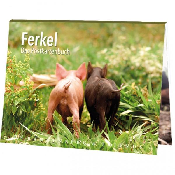 """Postkartenbuch """"Ferkel"""""""