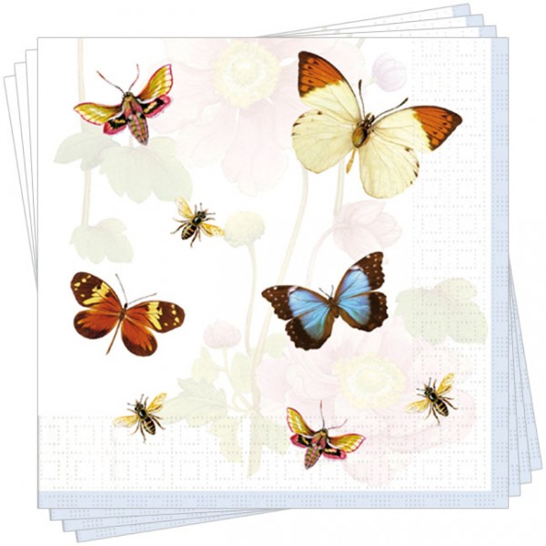 "Servietten ""Schmetterlinge"""