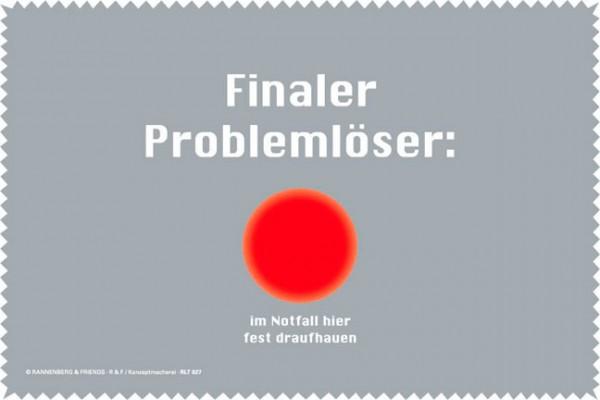 Laptoptuch 'Finaler Problemlöser'