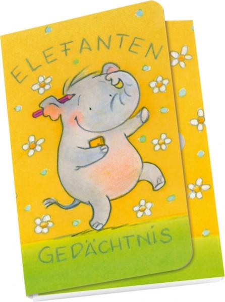 Taschennotizblöckchen 'Elefanten Gedächtnis'