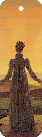 """Lesezeichen """"Frau in der Morgensonne"""""""