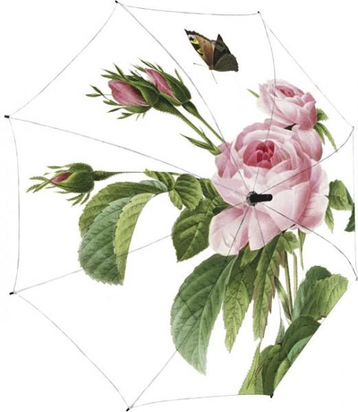 """Regenschirm """"Rosa centifolia"""""""