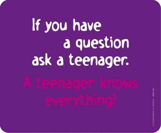 Maus-Pad 'Teenager'