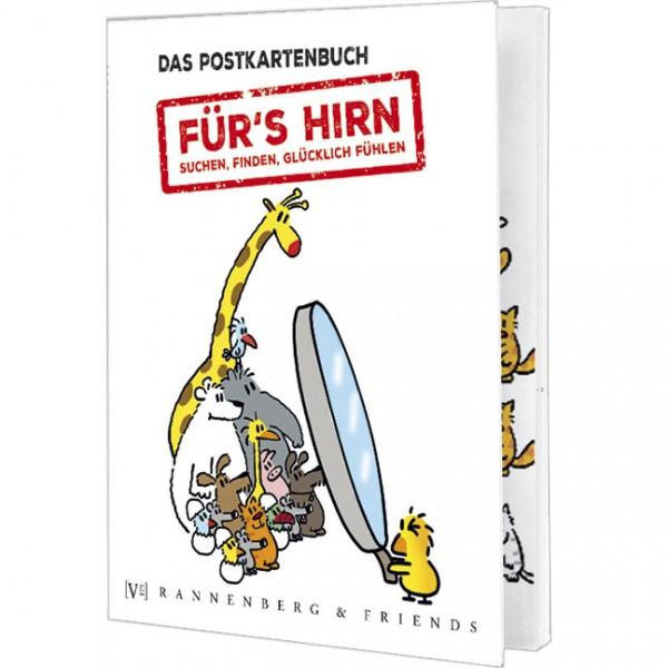 Postkartenbuch 'Für´s Hirn'