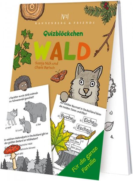 Spieleblöckchen 'Wald - Quizblöckchen' von Svenja Nick / Charts Bartsch