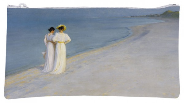 Etuitasche 'Sommerabend am Strand'