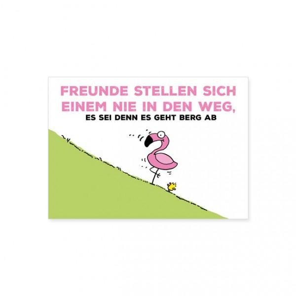 """Postkarte """"Nie im Weg"""""""