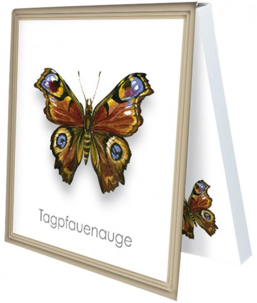 Klebezettel 'Tagpfauenauge'