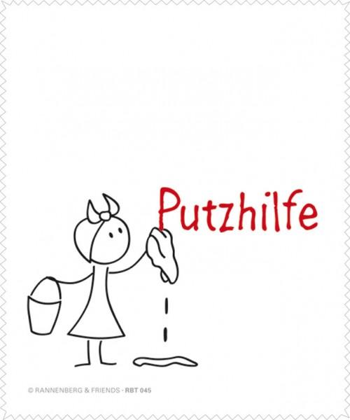 """Brillenputztuch """"Putzhilfe für sie"""""""
