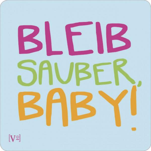 Handy-Putzi Large 'Bleib sauber'