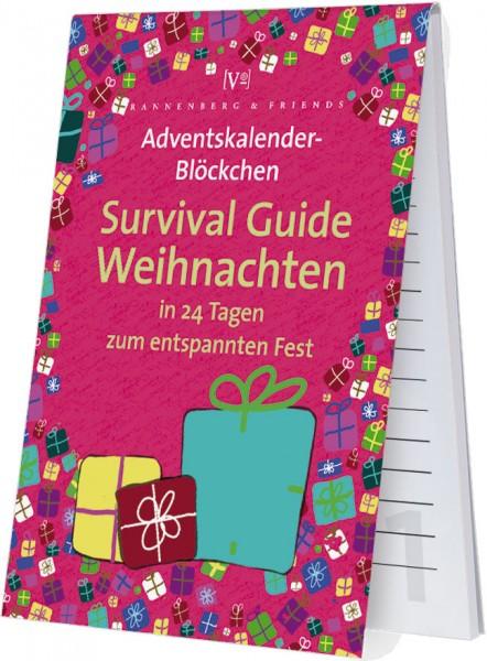 Adventskalenderblöckchen 'Anti Stress Training /Survival Guide'- RSBW 020