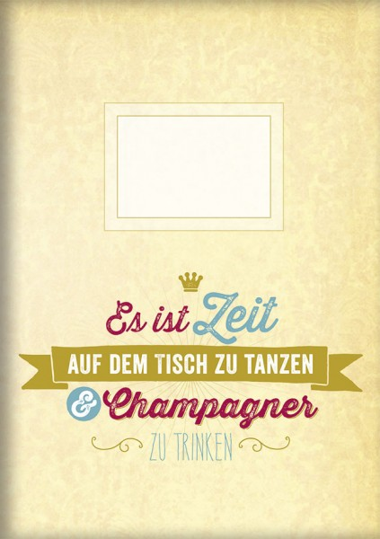 """gr. Kladden A5 """"Champagner"""""""