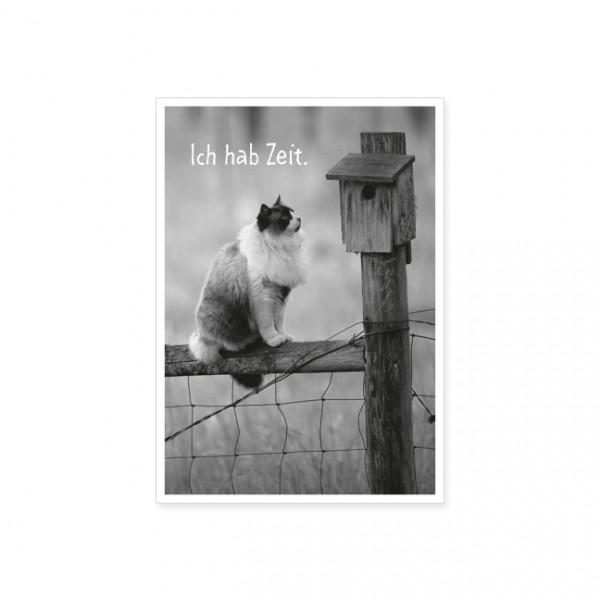 """Postkarte """"Ich hab Zeit"""""""