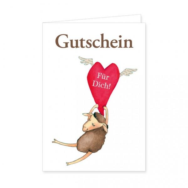 """Geschenk-Gutschein """"Für Dich!"""""""
