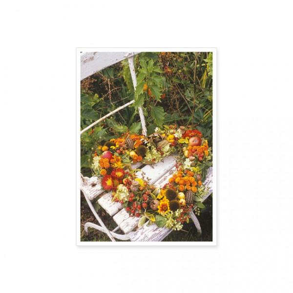 "Postkarte ""Blütenherz"""