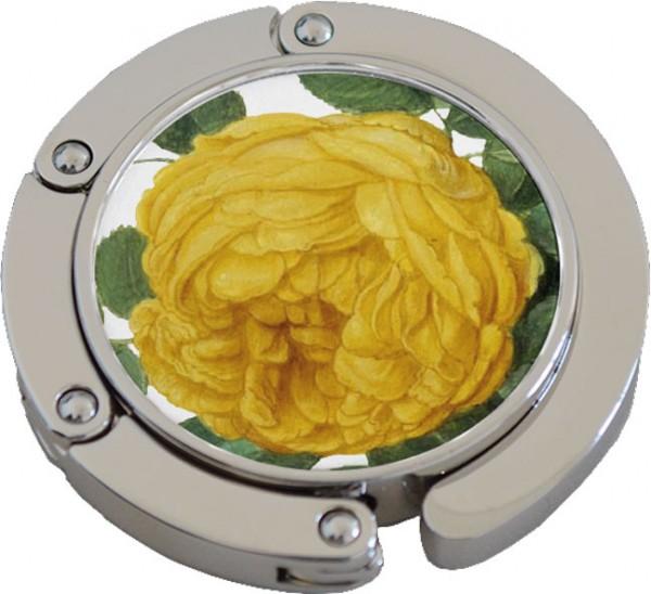 """Klack """"Gelbe Rose aus dem Nassau Florilegium"""""""