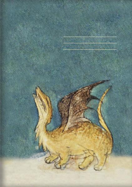Kladden A5 'Drache aus dem Bestiarium' aus Le Livre des Proprietes des Choses