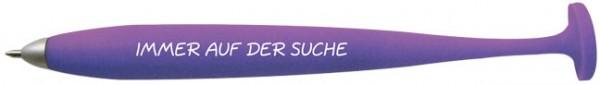 """Magnetkugelschreiber """"Immer auf der Suche"""""""
